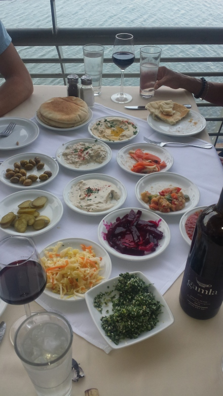 14.Tiberias.food in Israel