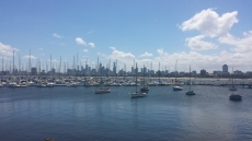 View from St Kilda Pier